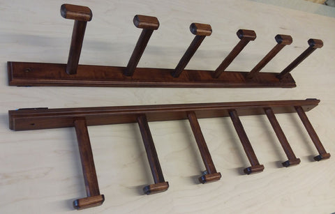 Handcrafted Maple Fishing Rod Rack