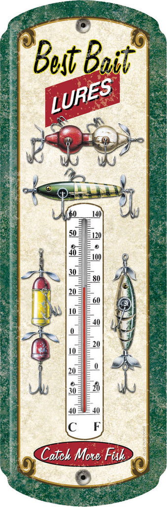 Rivers Edge Products Fishing Lure Thermometer