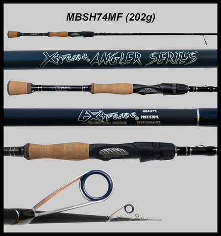 "FX Custom Rods  7'4"" Medium Fast Spinning Rod"