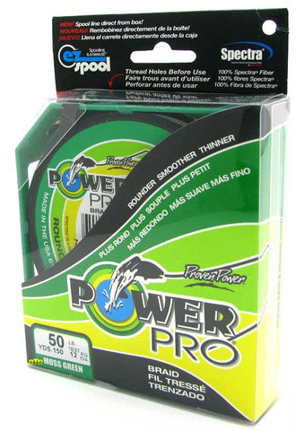 Power Pro Braided Green Line - 150yd (10lb-80lb)