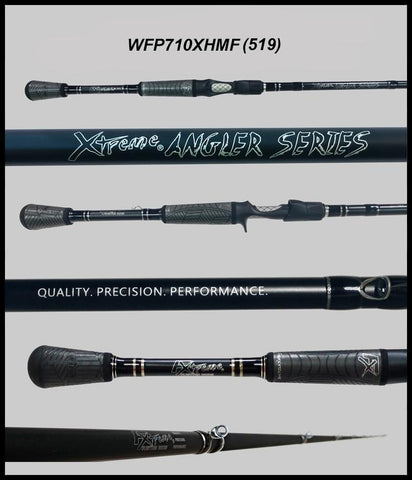 "FX Custom Rods  7'10""  XTRA Heavy Mod-Fast Casting Flipping Rod"