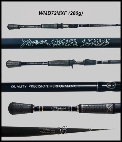 "FX Custom Rods  7'2"" Medium Xtra Fast Casting Rod"