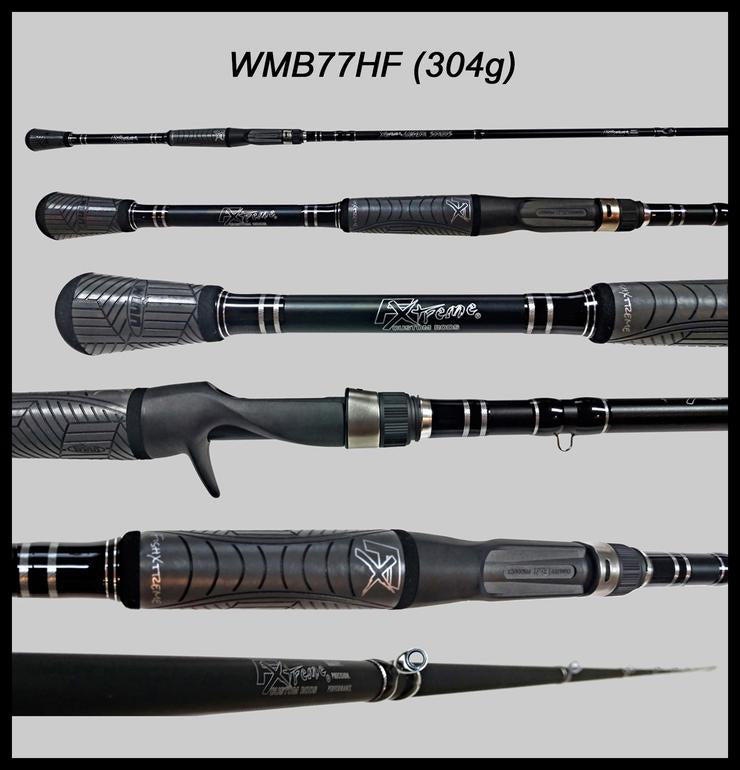 "FX Custom Rods  7'7"" Heavy Fast Casting Rod"