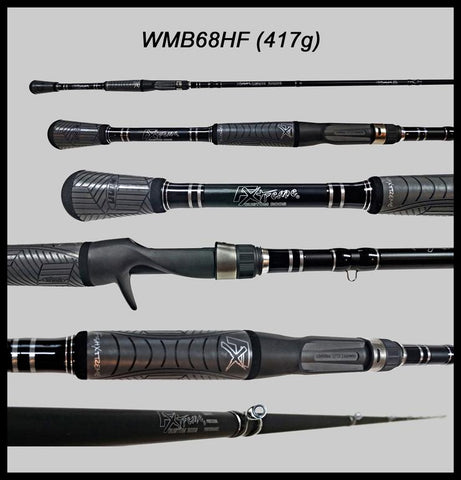 "FX Custom Rods  6'8"" Heavy Fast Casting Rod"