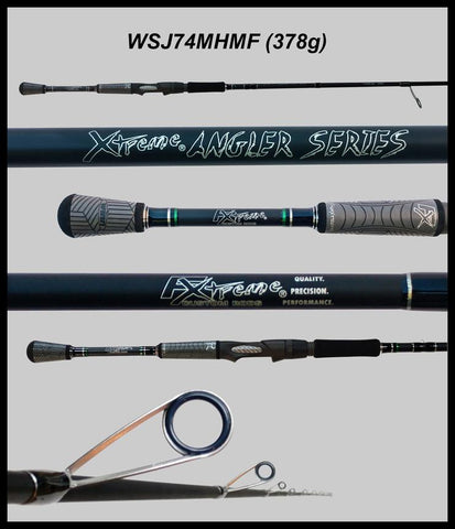 "FX Custom Rods  7'4"" Medium-Heavy Mod-Fast Spinning Rod"