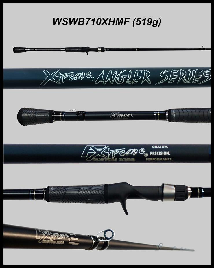 "FX Custom Rods  7'10"" Xtra-Heavy Mod-Fast Casting Swim-bait Rod"