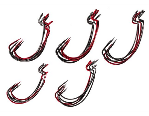 Gamakatsu 257000 Extra Wide Gap Worm Assortment Fishing Hook Size