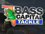Bass Capital Tackle Decal