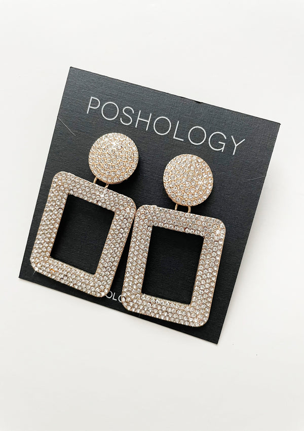 Sophie Rhinestone Earrings