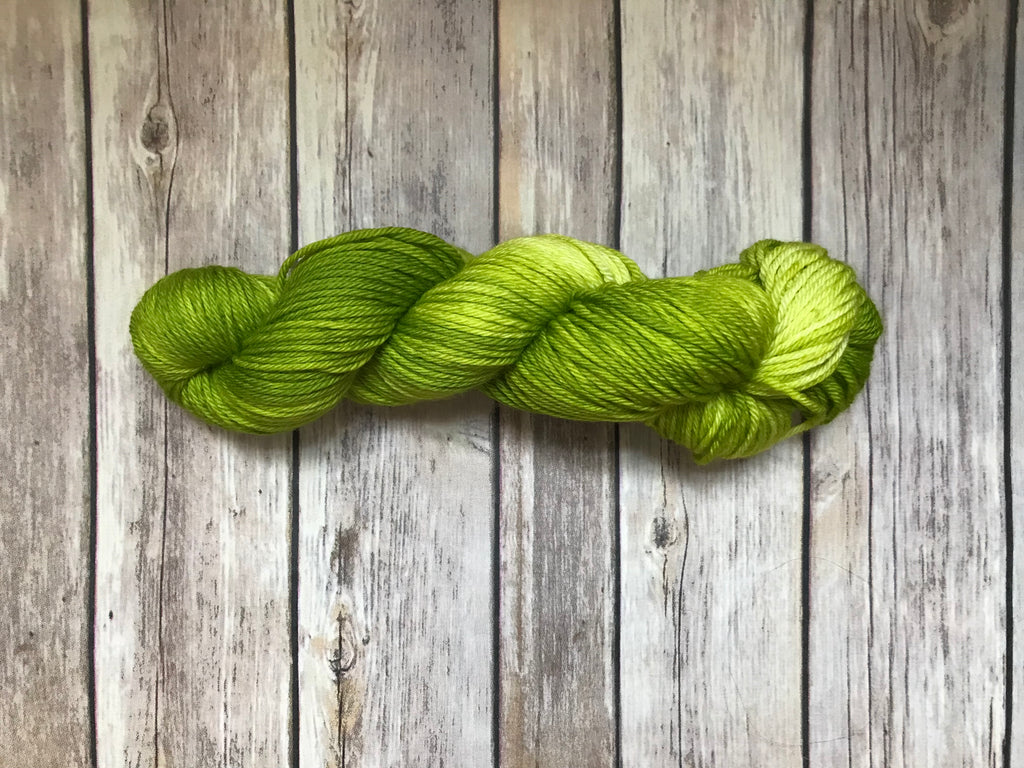 Morii Worsted in Chartreuse