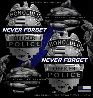 HAWAII OFFICERS GUNNED DOWN