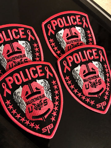 "STB ""BREAST CANCER AWARENESS "" PATCH"