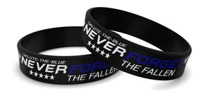 "NEW STB ""NEVER FORGET THE FALLEN"" WRISTBANDS"
