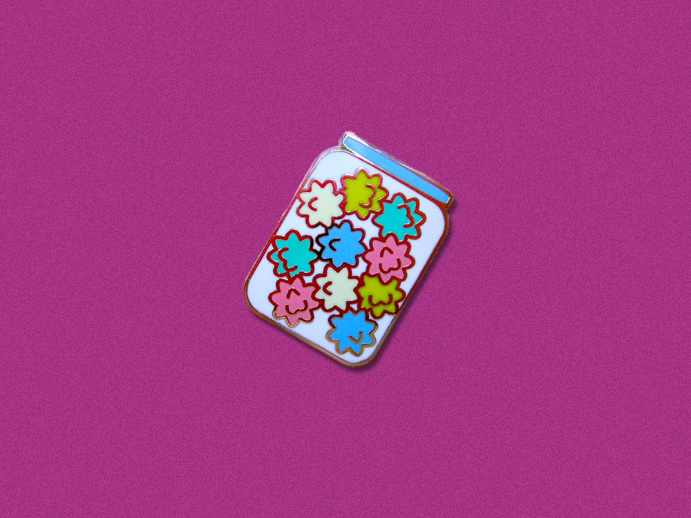 Konpeito Jar Hard Enamel Pin