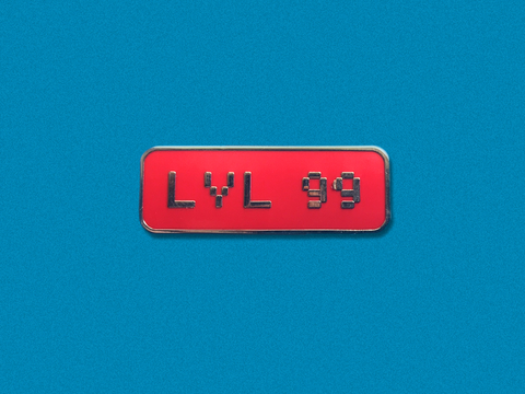 LVL 99 Hard Enamel Pin