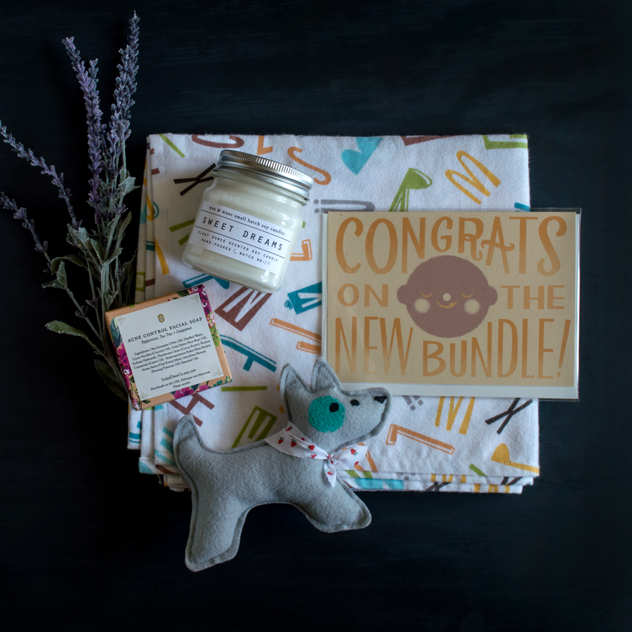 Our Favorite Things this week at Chestnut Studios! Featuring gifts for both mothers and their little bundles.