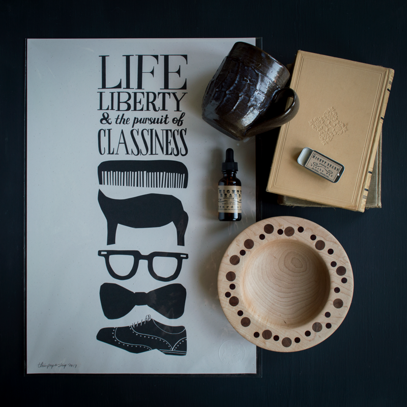 "Our Favorite Things Collection - Handmade Father's Day gifts for the ""Classy Man"" in your life"