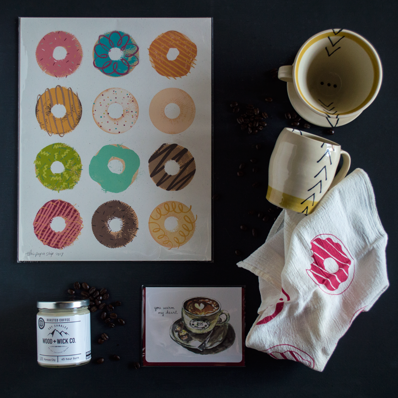 Coffee + Donuts --Our Favorite Things this week at Chestnut Studios!