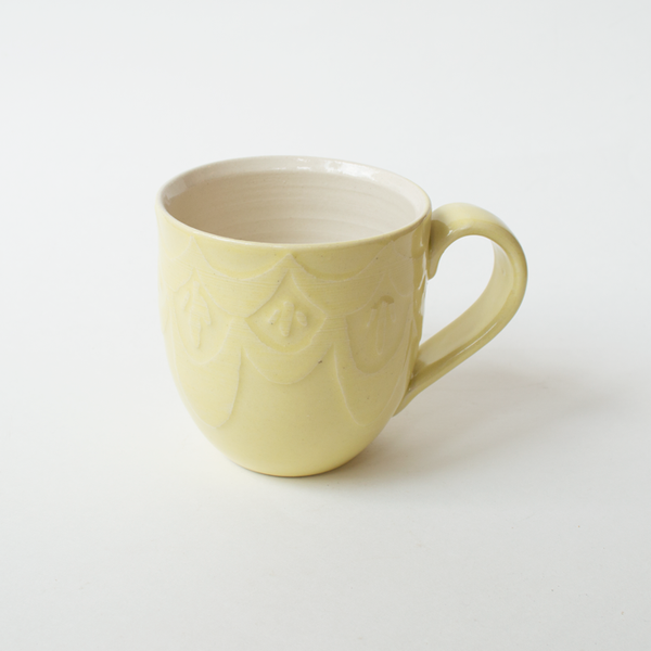 Etched Patterned Mugs