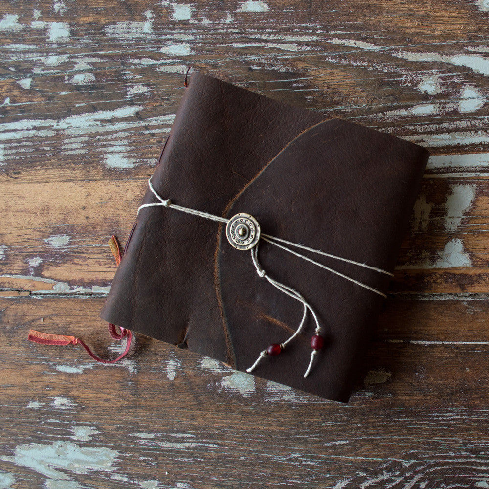 7x6 Red Desert Leather Sketchbook