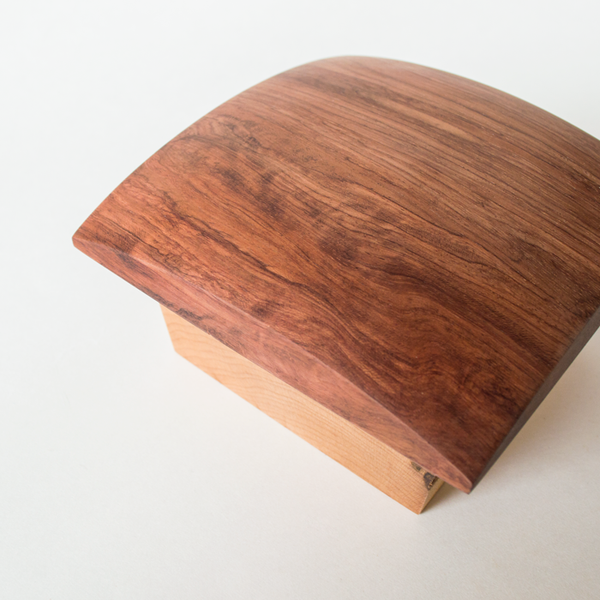 Square Maple Rosewood Canister