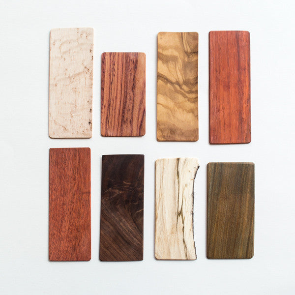 Wood Grain Bookmarks