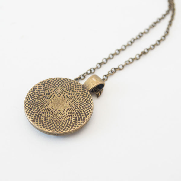 Crushed Stone Necklace
