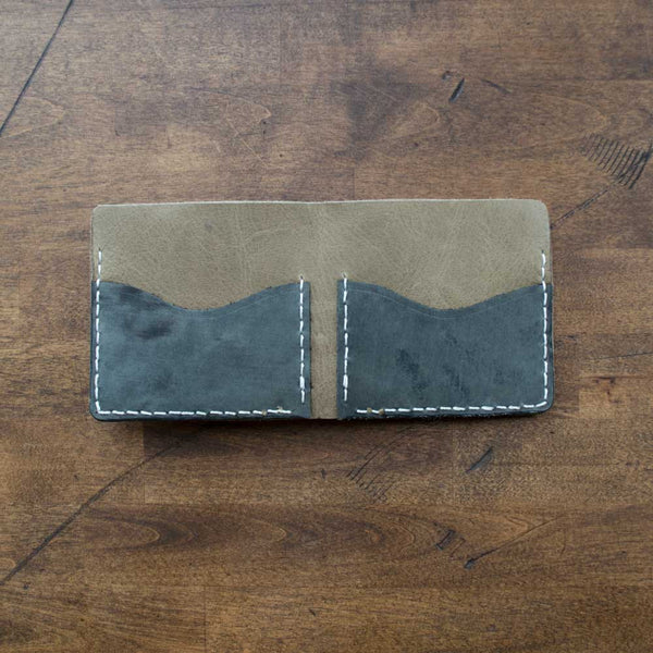 Extra Tall Leather Wallet