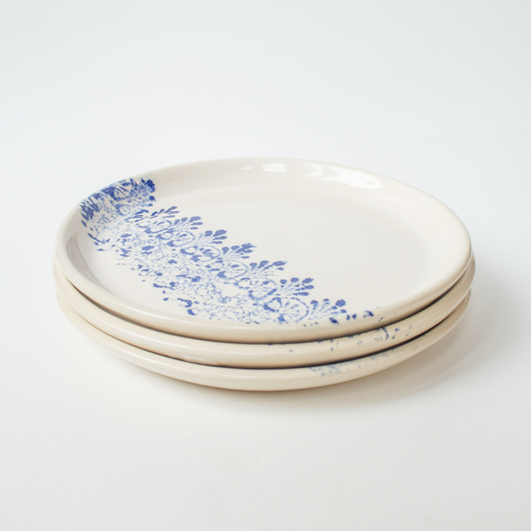 Cobalt Lace Dinner Set