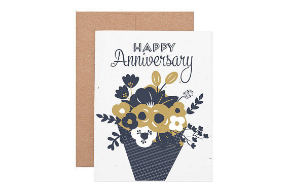 Seeded Anniversary Card
