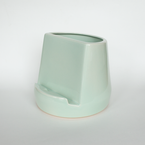 Ceramic Tablet Dock - Mint Green