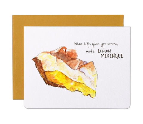 Make Lemon Meringue Card