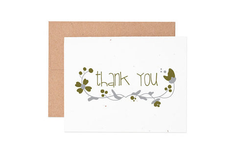 Seeded Thank You Cards - Boxed Set