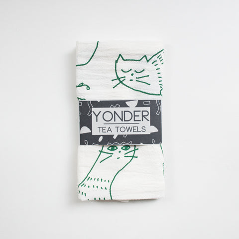 Cat Tea Towels