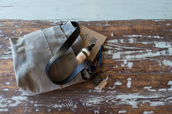 Waxed Canvas Harriet Tote