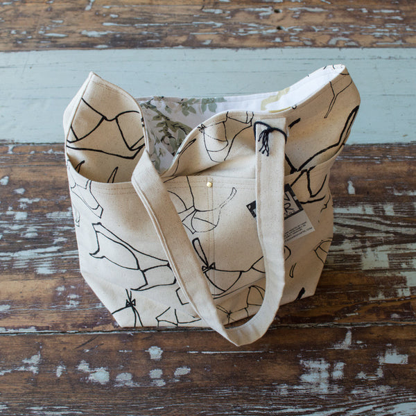 Patterned Canvas Tote Bags