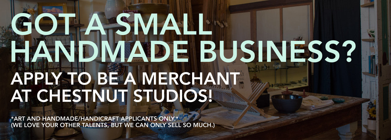 Fill our form to become a Chestnut Studios stockist!