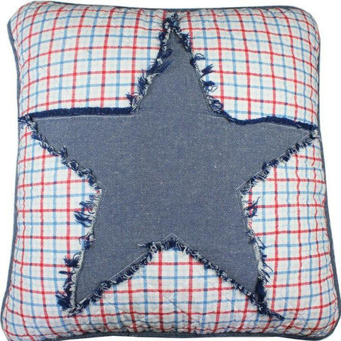 Thomas Star Square Cushion Cover
