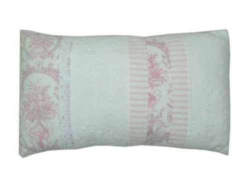 Juliet Pink rectangle Cushion