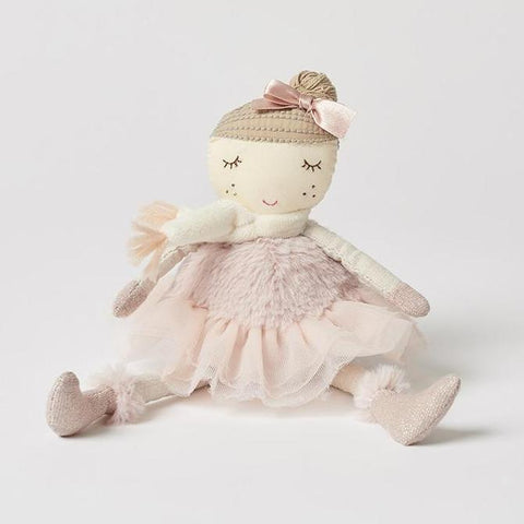 Plush Pink Large Ballerina Girls Doll