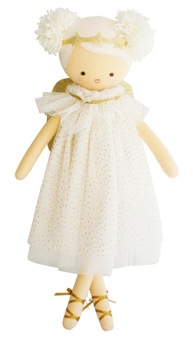 Angel Gold Tulle Large Ballerina Alimrose Fairy Doll