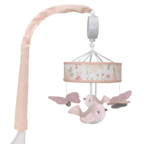 Meadow Musical Cot Mobile Baby Nursery Decor