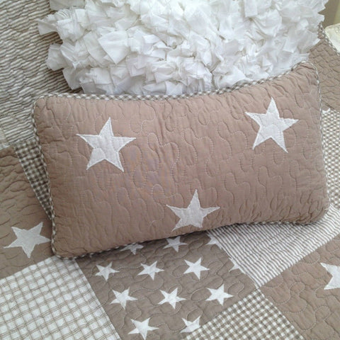 Lachlan Cotton Rectangle Decorator Cushion in Natural