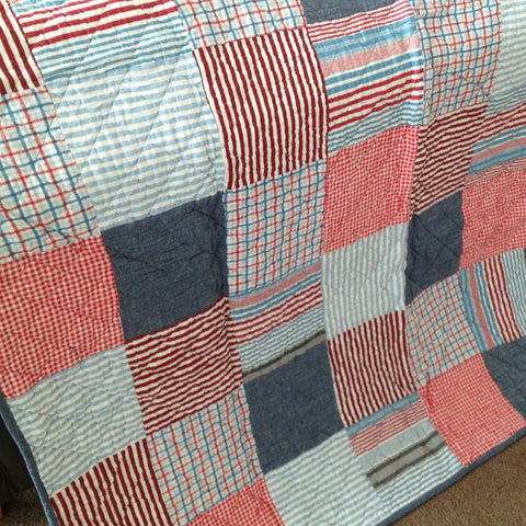 Thomas Quilted Patchwork Throw Rug