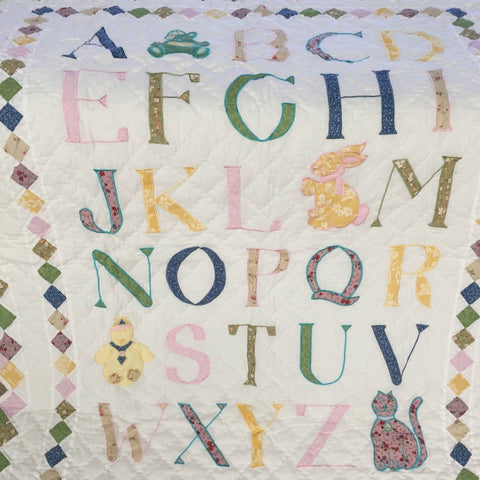 Baby Alphabet Throw Rug