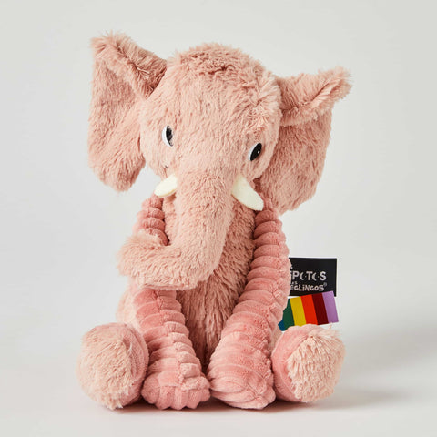 Ptipotos the Pink Elephant Little Mates Children's Baby Plush Toy