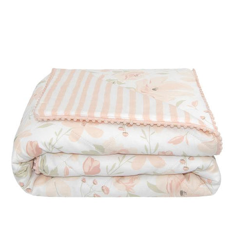 Meadow Quilted Cot Comforter Nursery Quilt Blanket