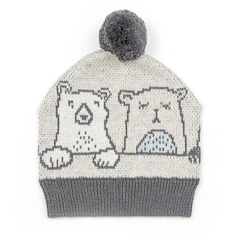 Henry Bear Baby Cotton Knit Hat Beanie