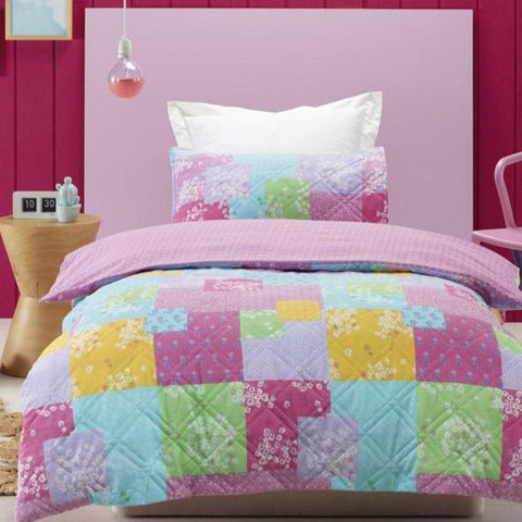 Bella Padded Quilt Cover Set Sale