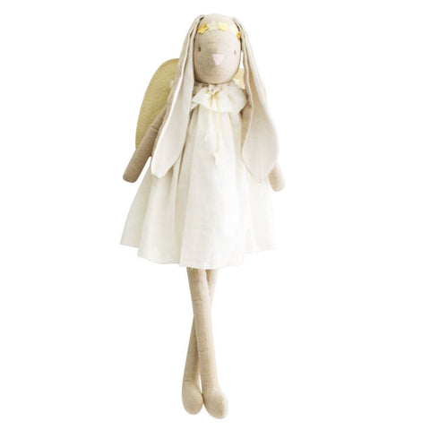 Celeste Large Angel Bunny 70cm Ivory Gold Doll